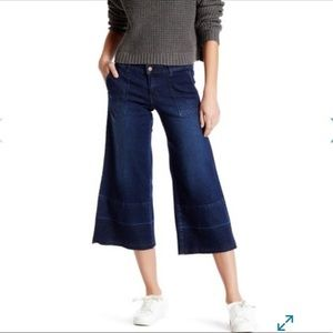 Wild Pear Flare Cropped Jeans